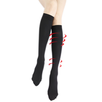 Compression Massage Female Wellness Knit Socks Nylon Socks