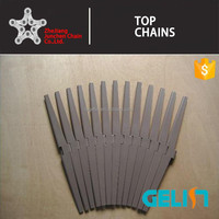 1873 2000 series side flexing sanp-on chains plastic flat top chain
