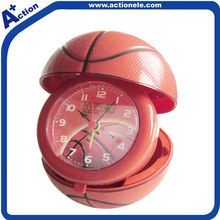 basketball quartz alarm table clock