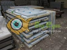 sandwich pu panel for workshops fire prevention and environmental protection Fish preservation