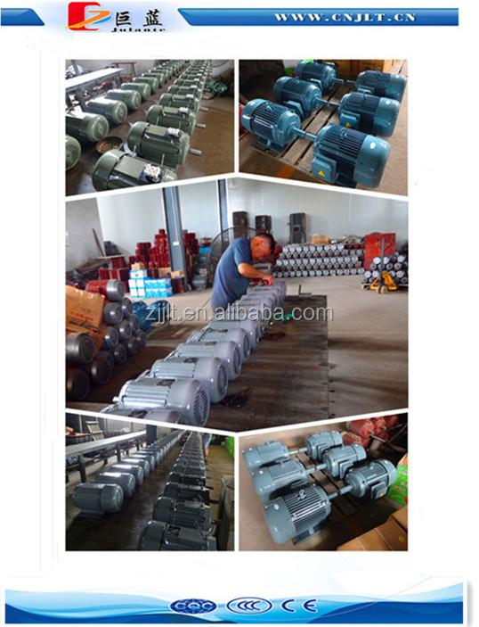 4poles three phase 0.75kw 1hp ac electric motor