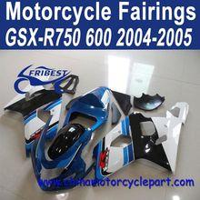 2004-2005 For Suzuki GSXR 750 GSXR 600 Motorcycle Fairing Blue White Oem FFKSU003