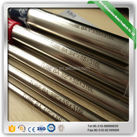 430 Stainless Steel Seamless Pipe/Tube Weight Price per meter
