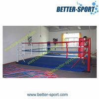 2015 best sales floor boxing ring