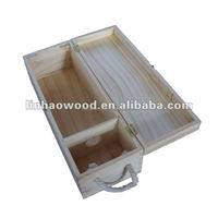 Paulownia Wood Gift Boxes for Wine Bottles