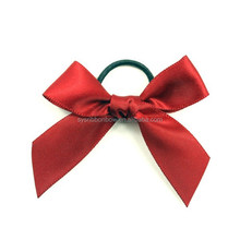 handmade ribbon bow tie for vine bottle