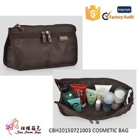 new arrive and fashion polyester pouch small bag in bag, zipper pouch, travel pouch,