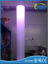 LED Inflatable Column for advertisement(wholesale)/ Decoration Inflatable Lighting Column/LED Inflatable Column
