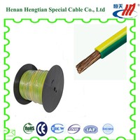 copper conductor pvc insulated earth cable wire about 16mm