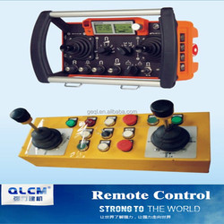 Tower crane spare parts - remote control (wire/wireless)