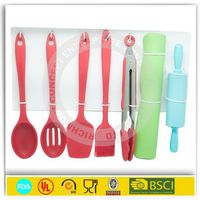 Silicone kithcen utensils spatula kitchen utensil