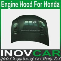 City Carbon Fiber Trepanning Trunk Hoods ,Car Hood For Honda Engine Hood