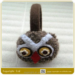 Winter Lovely Owl Knitted Acrylic Ear Muff