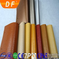 """54/55"""" Width and PVC Material pu/pvc synthetic leather nonwoven fabric"""