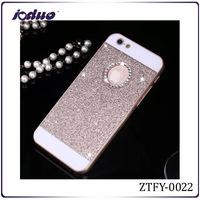 Wholesale 2015 Glitter mobile phone case rhinestone phone case for iphone