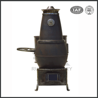 high quality popular decorative cast iron stove fireplace