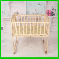 Customized crazy selling simple wooden baby bed for sales