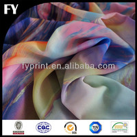 Digital printed 65 polyester 35 cotton fabric stretch for clothing