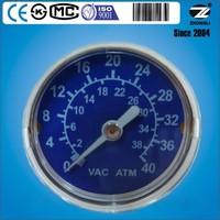 Hot Sale ! 40mm customized medical vacuum compound pressure gauges
