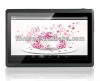 "7"" 2G GSM Tablet PC w/ WIFIn/ GPS/BT/OTG / Cam / TF (1.2GHz CPU, 4GB)"