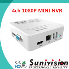 2015 New design new product Portable Support P2P 1080p 8CH 4CH Onvif Mini NVR