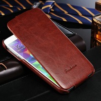 Customize cell phone leather case for Samsung Galaxy S5 I9600 PU material flip cover