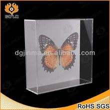 top grade mini clear acrylic keepsake box