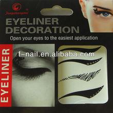 Hot sale eyeliner sticker temporary tattoo sticker