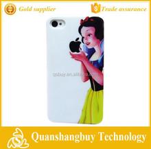 Cheap deal high quality snow princess snow fairy snow girl design cell phone case cover skin for iphone 4 4g 4s case