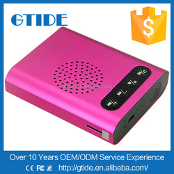 Chrimas metal bluetooth speaker Gtide P7 like a pillow with speaker for caf speaker with silicone speaker wire
