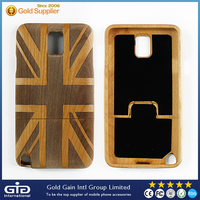 Flag Wood Case for Samsung for Galaxy Note 3