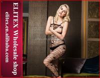 Elitex new arrivals black girls nighty sexy wear lingerie BS29