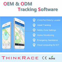 Cheap car alarm gps server tracking software /gps tracking system by Thinkrace