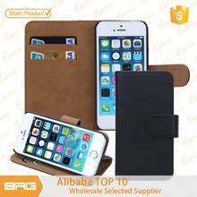 BRG $0.99 Cheapest Mobile Phone Wallet Leather Case Cover for iPhone 6 Plus 5.5 inch