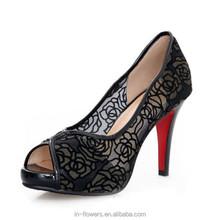 wholesale ladies fancy girl shoes high heel