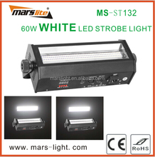 60W led white strobe stage lighting flashing lights