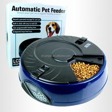 6- Days Meal Automatic Pet Feeder Dog Cat Bowl Auto Dispenser Bowl( DARK BLUE)
