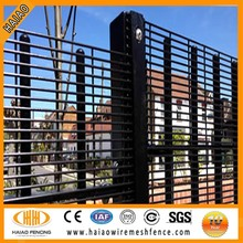 Alibaba China metal panel fence with electric fence netting, heavy duty steel fence panels