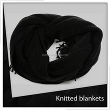 patchwork a maglia coperta modello