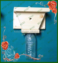 FSC new design cheap hanging wooden bee trap