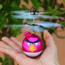 2.5CH RC Helicopter with Gyro Happy Flying Birds RC Aircraft Infrared Remote Control Toy for Children