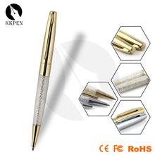 KKPEN Diamond crystal ballpoint pen Creative stationery plating crystalline ballpoint pen