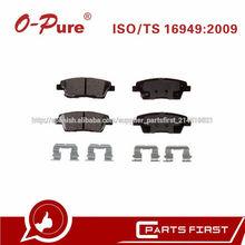 Pastillas De Freno 58302-3MA30 D1551 Freno Sistema De China Más Vendido Para Hyundai Genesis
