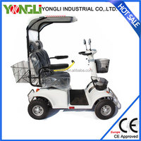 Reliable stability safe electric scooter with big wheels
