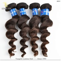 2015 New Arrival Fashion Design Hot 100% Unprocessed Natural Color Tight Virgin Remy brazilian human hair wet and wavy