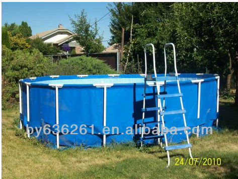Plastic outdoor garden water pump fish pond fish tank for Plastic water garden pond