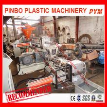 Waste plastic recycling granulator machine