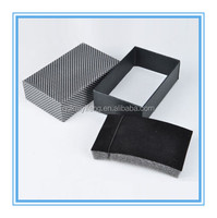 three pieces cardboard jewelry lid and base gift box