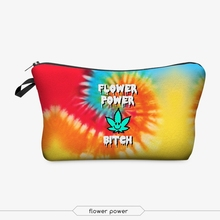 sublimation cosmetic bag 3d print cosmetic bag high quality wholesale travel makeup cases with zippers pouch purses wallets