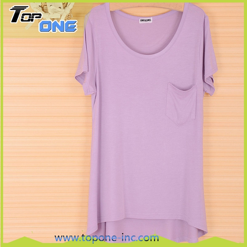 women 39 s short sleeve t shirt use modal fabric round